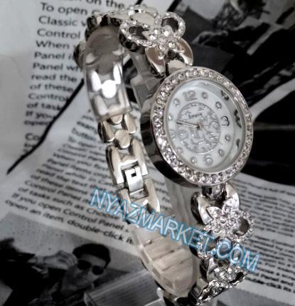 خرید پستی ساعت زنانه امپایر empire بند نگیندار صفحه طرح دار 1943