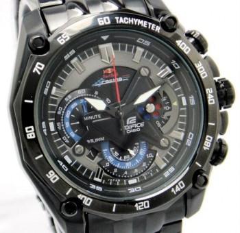 ساعت عقربه ای مردانه تمام مشکی مدل ۵۵۰-bk