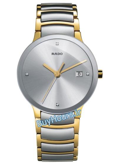 خرید پستی ساعت عقربه ای تک موتوره مردانه مارک رادو