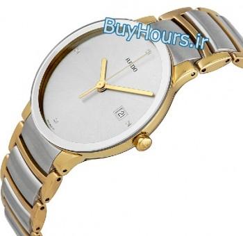 خرید ساعت رادو جوبیلو طلایی نقره ای RADO CENTRIX JUBILE