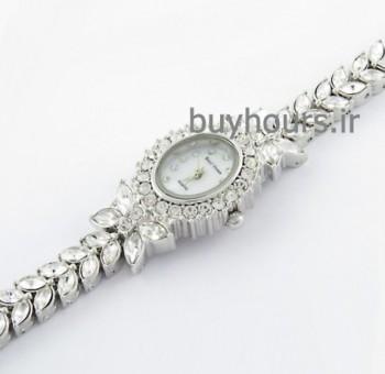 خرید ساعت زنانه رویال کرون royal crown اورجینال طرح نقره
