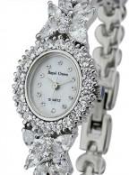خرید ساعت مچی مجلسی زنانه طرح نقره رویال کرون اصل ROYAL CROWN