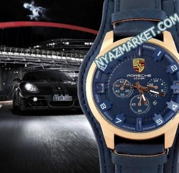 خرید ساعت مچی مردانه پورشه دیزاین Porsche Design بند چرم اسپورت